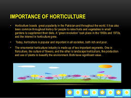 definition of horticulture for industrial estate