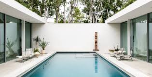 courtyard pool the row by rich stapleton up interiors