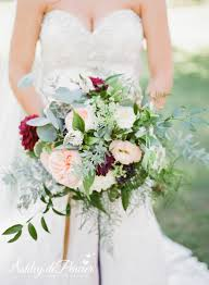 wedding flowers greenery lush bridal bouquet with lots of greenery blush garden roses