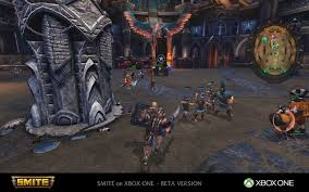 Smite Conquest Map Smite Xbox One Beta Giveaway