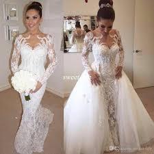 wedding dress makers steven khalil sleeve lace wedding dresses with