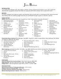 Uncc Resume Builder 2017 J Belman Resume