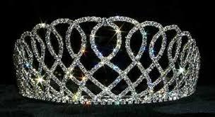 tiaras uk rhinestone pageant crown elizabethan lace large rhinestone tiara