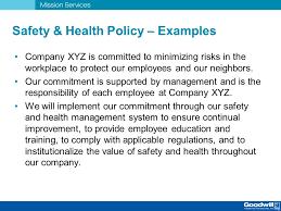 safety u0026 health management system training ppt download