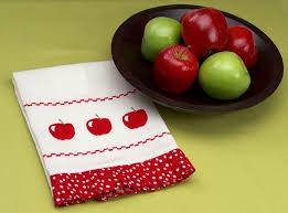 project apple tea towel singer sewing