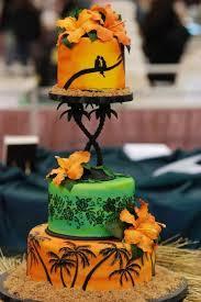 125 best luau cakes u0026 tiki treats images on pinterest luau cakes