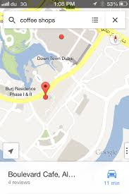 Dubai On World Map Google Maps Launched For Iphone Users In Uae Emirates 24 7