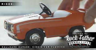 rides hallmark garage kiddie car classics diecast vehicles
