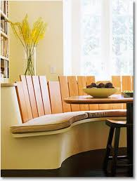 Table Banquette Banquette Booth Or Built In Cool Kitchen Table Seating