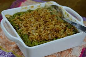 green bean casserole with fried onions 100 days of