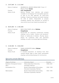 Architectural Resume Examples by Senior Architecture Draughtsman Auto Cad Draftsman Shopdrawing Cv Goo U2026
