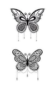 Butterflies Tattoos On - creative butterfly decor butterfly wall butterfly wall and