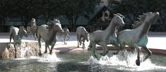 mustang tx the mustangs of las colinas museum sculpture
