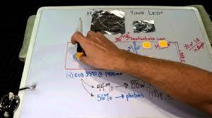 diy cree led grow light diy led basics choosing your heatsink part 3 6 youtube