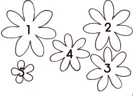 flower petal template clip art library
