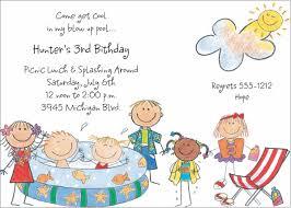 kids birthday party invitations blueklip com