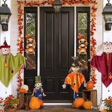 fall front entrance decorating idea thanksgiving decorating