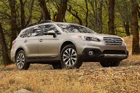 subaru station wagon news 2015 subaru outback 2 5 this wagon like car makes the