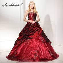 fifteen dresses burgundy quinceanera dresses promotion shop for promotional