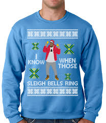 i know when those sleigh bells ring crewneck