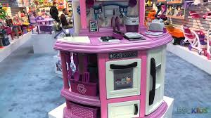 Deluxe Kitchen Play Set by American Plastic Toys Kitchen Youtube