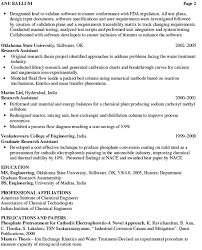 Chemical Engineering Internship Resume Samples Trainee Engineer Resume Samples Chemical Engineer Resume Summary