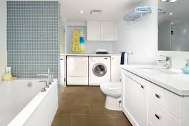 laundry in bathroom ideas bathroom laundry room designs 11336