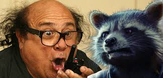 danny devito danny devito was considered for rocket raccoon in guardians of the