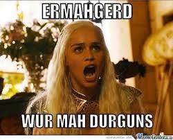 Er Mer Gerd Meme - post a funny meme random answers fanpop