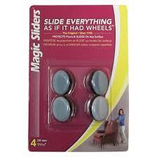 Chair Leg Glides For Wood Floors Magic Sliders Nail On Glides 4 Pk Target