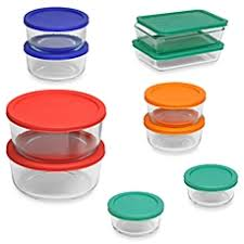 Bread Boxes Bed Bath And Beyond Food Storage Cookie Jars Canister Sets U0026 Glass Bowls With Lids