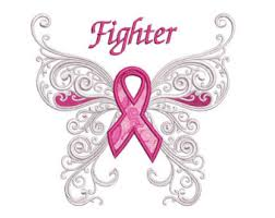 survivor breast cancer butterfly with wings machine filled