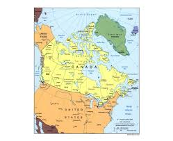 Highly Detailed River Map Of by Maps Of Canada Detailed Map Of Canada In English Tourist Map