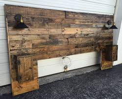 Queen Size Headboards Only by Best 25 Homemade Headboards Ideas On Pinterest Rustic
