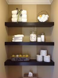 bathroom shelf ideas floating shelves bathroom diy wall mirror decorative shelving