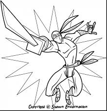 extraordinary ninja turtles coloring pages with ninja coloring
