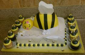 to bee baby shower bumble bee baby shower cake