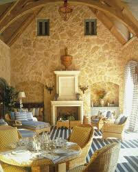 French Country Home Interior Living Room  French Country Home - French country family room