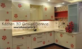 kitchen interior decoration modular kitchen designashiana interiors kolkata within
