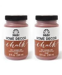 folkart cathedral door 8 oz chalk paint set of two zulily