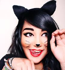 Simple Cat Makeup For Halloween by Simple Cat Whiskers Makeup Mugeek Vidalondon