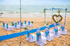 beach wedding decor u2014 unique hardscape design beach wedding