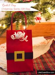 christmas wrapping bags easy last minute christmas wrapping green bow