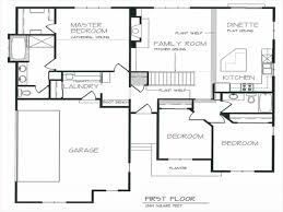 100 single story floor plan 5 bedroom house one story open