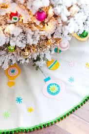 18 christmas tree skirts to dress up your holiday decor brit co