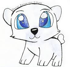 polar bear clipart easy pencil color polar bear clipart easy