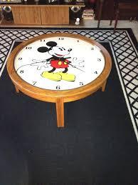 mickey mouse table l clock coffee table writehookstudio com