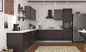 black kitchen cabinets design ideas kitchen cabinets contemporary black kitchen with floating shelves
