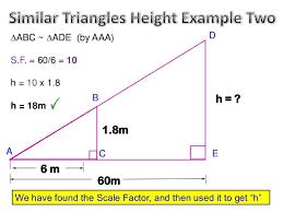 similar triangles ii