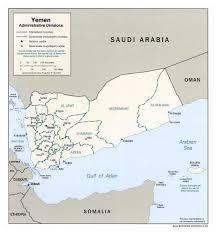 where is yemen on the map maps of yemen detailed map of yemen in tourist map of